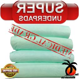 100 disposable underpads 30x36 super absorbency adult