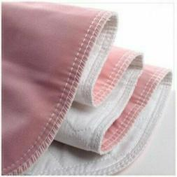 3 Premium Washable Underpads Bed Reusable Pads Waterproof In