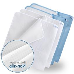 4 Incontinence Bed Pads Reusable Hospital Underpad Bed Mat A