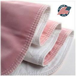 4 Premium Washable Underpads Bed Reusable Pads Waterproof In