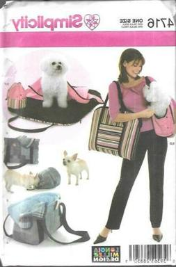 4716 SIMPLICITY PET ACCESSORIES BAGS/CARRY BEDS/TREAT BAGS/P