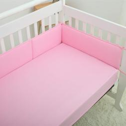 1/4PC/Set Baby Crib Bumper Pads Comfy Safety Bed Cot Protect
