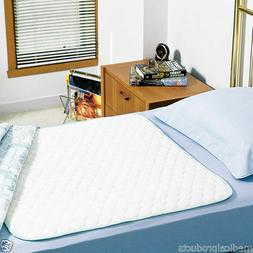 2 washable bed pads underpads