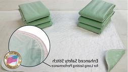 6 NEW BED PADS>34X36<WASHABLE INCONTINENCE REUSABLE UNDERPAD
