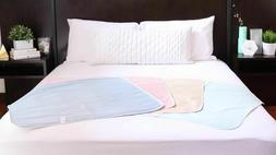 6 New Bed Pads Reusable Underpads 34x36 Hospital Grade Incon