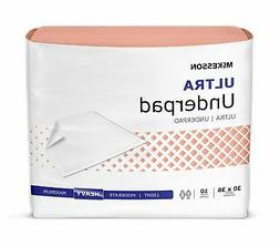 60 McKesson Ultra Heavy Absorbency Adult Bed Pad Disposable