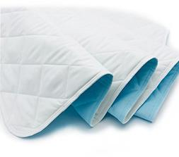 """KANECH Bed Pad Washable Waterproof - 44""""x 52""""- Extra 5 Layer"""