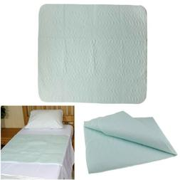Extra Absorbent Under Pad, Machine Washable, Waterproof Bed