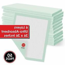 Incontinence Disposable Bed Pads Absorbent Chux Chucks Under