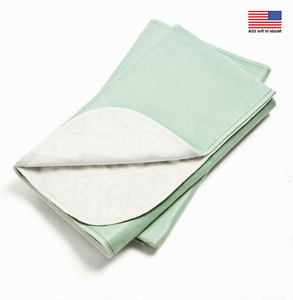 6 new bed pads reusable underpads 34x36