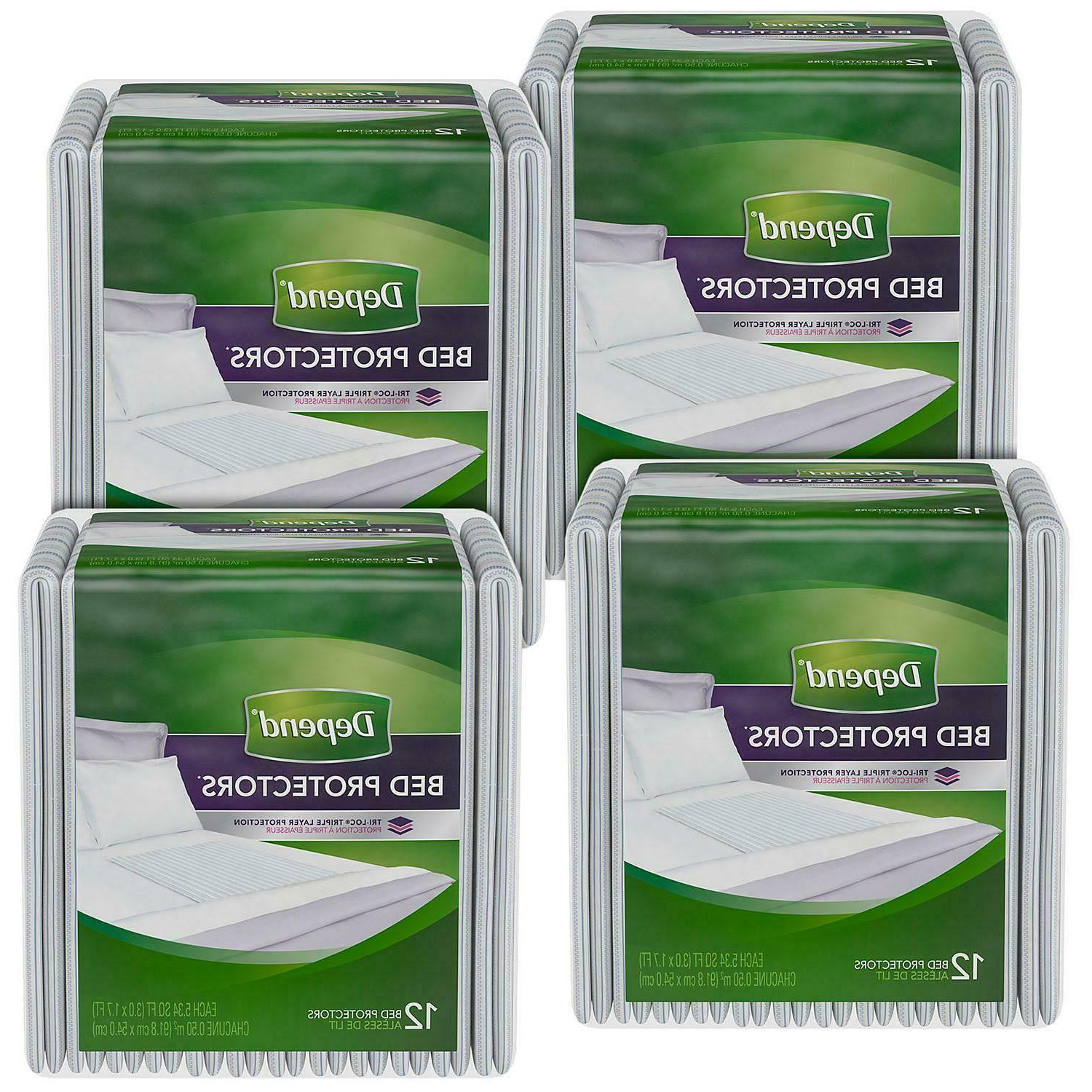 disposable waterproof bed pads overnight absorbency 48