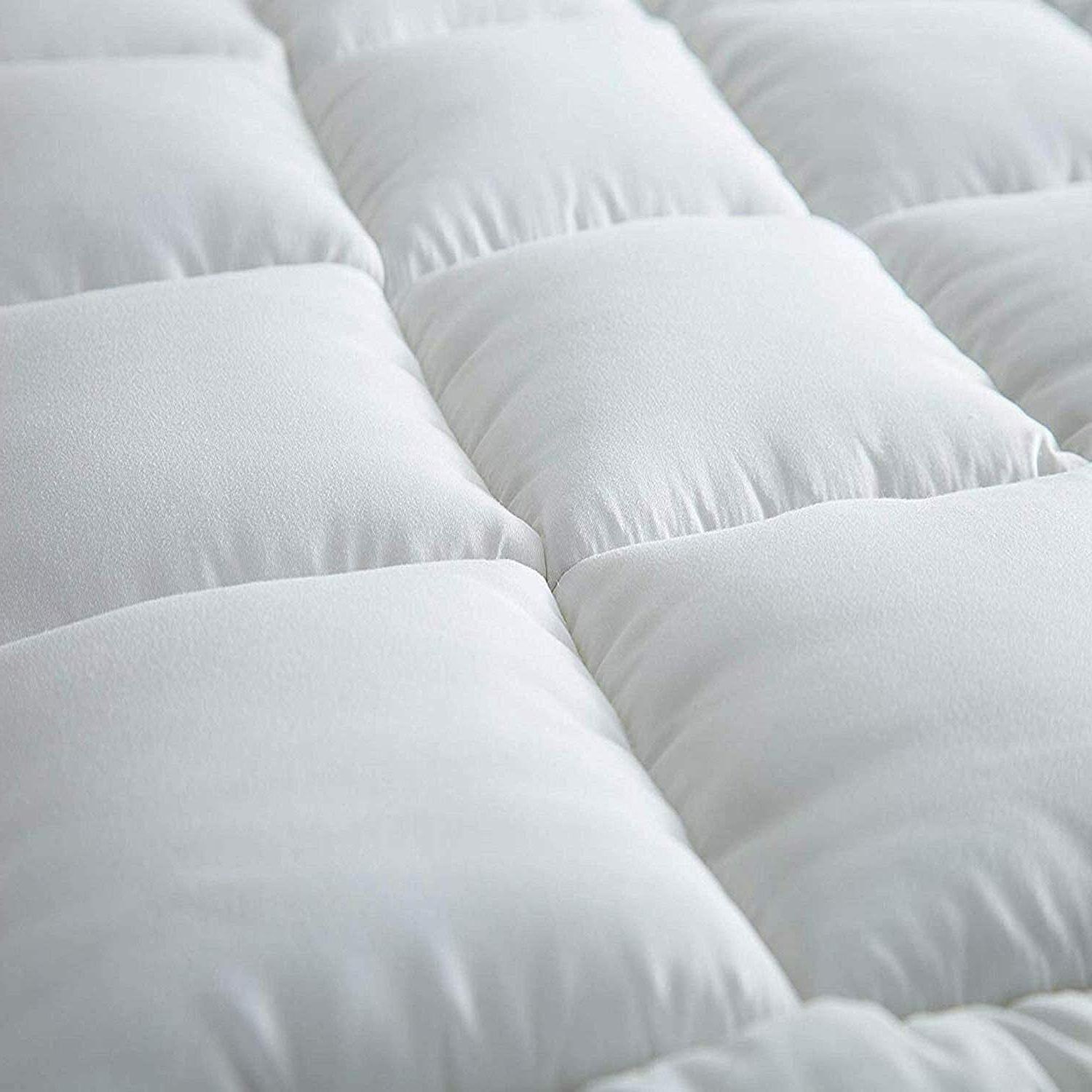 Extra Topper Twin Size Pillow Top Cover Pad Soft