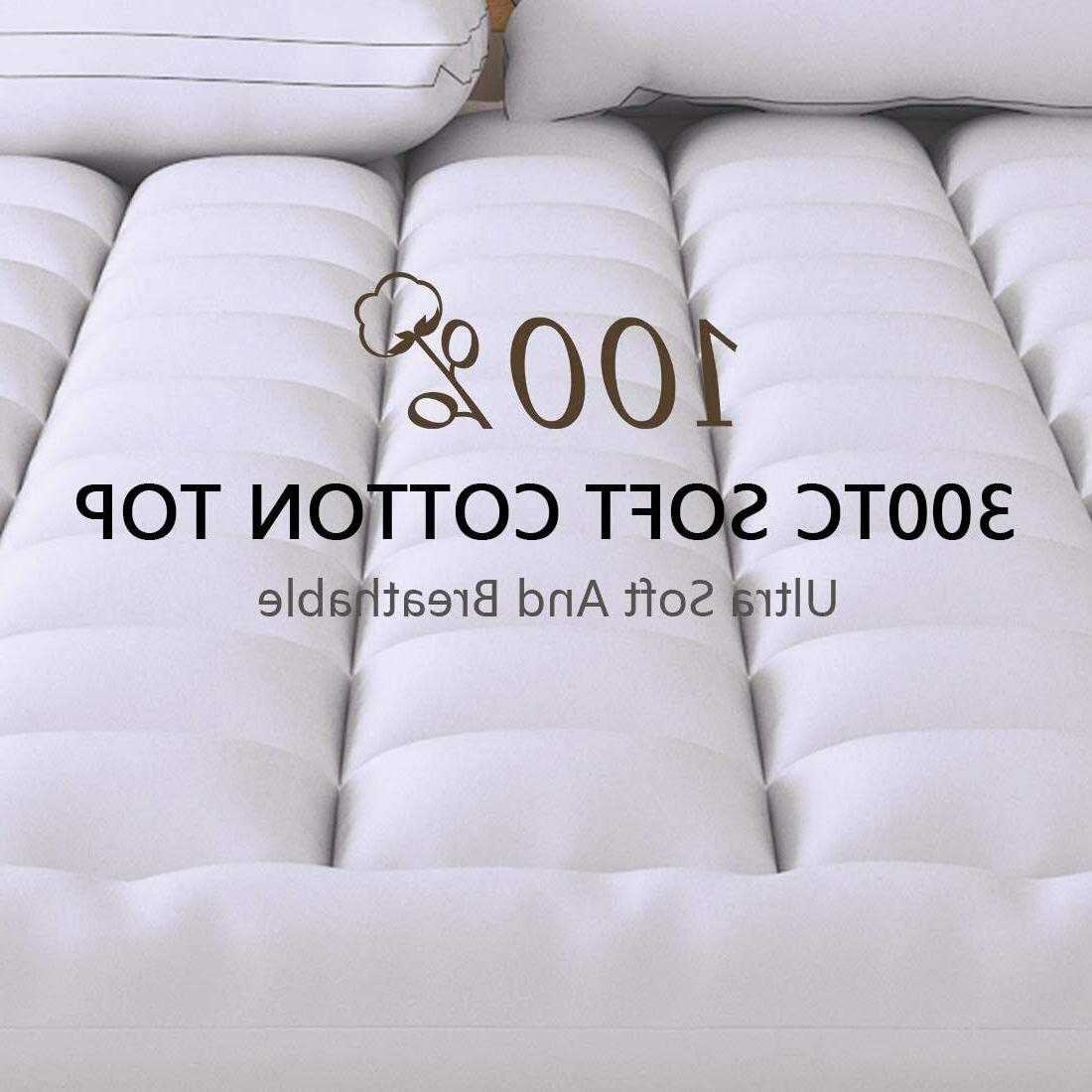 extra thick mattress topper twin size down