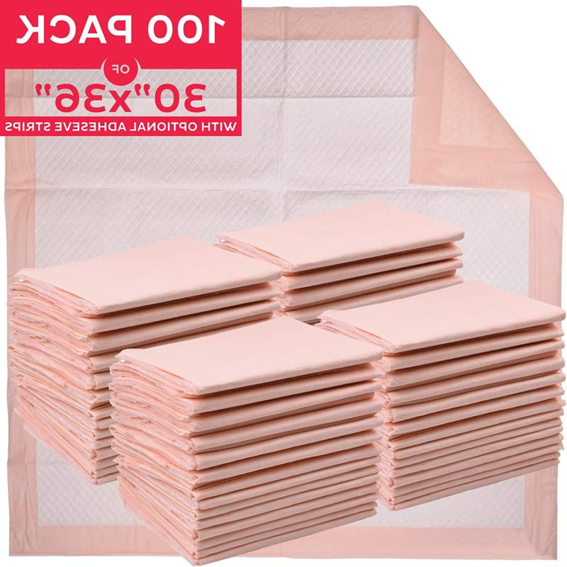 premium disposable underpads 30x36 packed 4x25 case