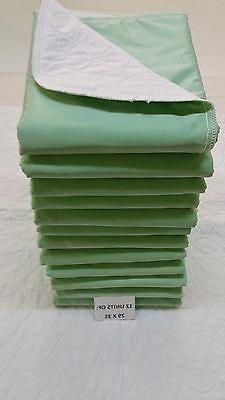 REUSABLE WASHABLE MEDICAL INCONTINENCE UNDERPADS / BED PADS