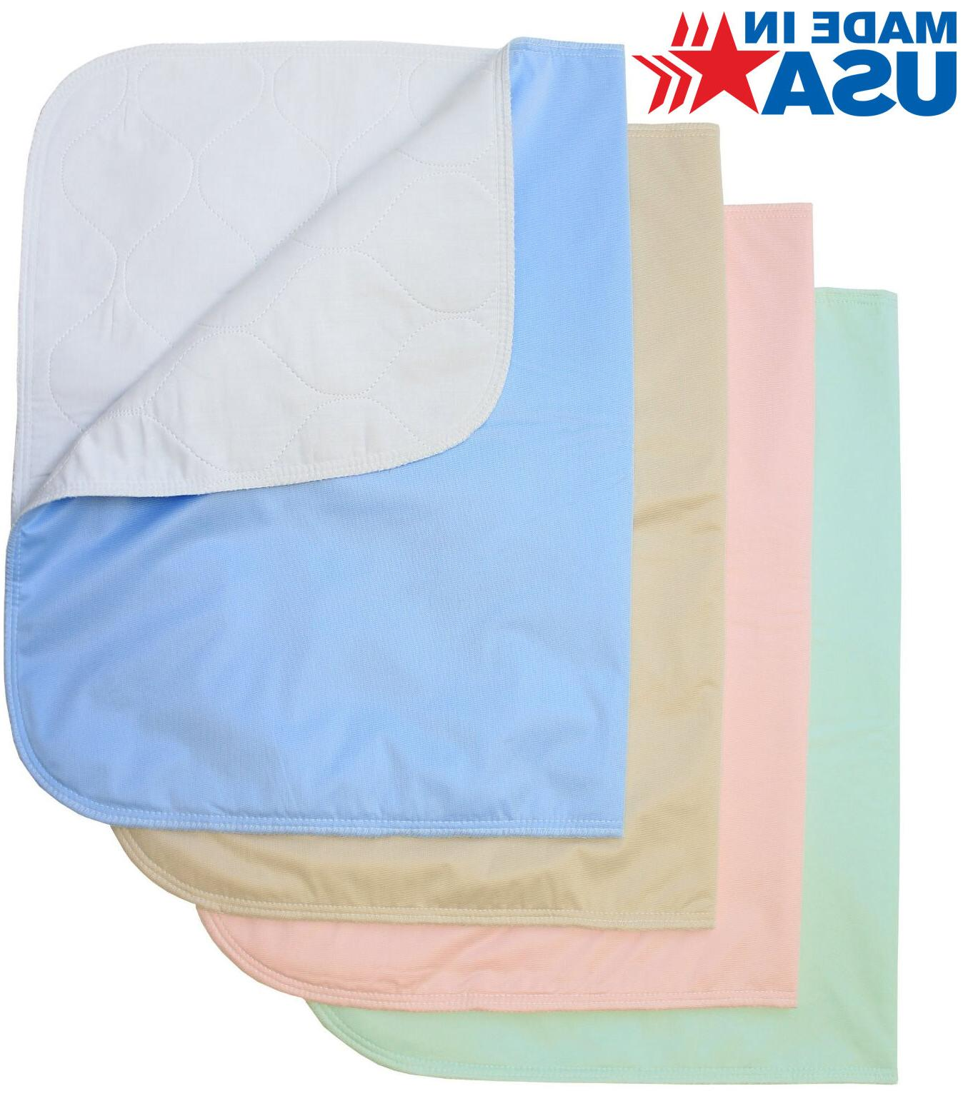 Washable Bed Pads / Reusable Incontinence Underpads 24x36 -