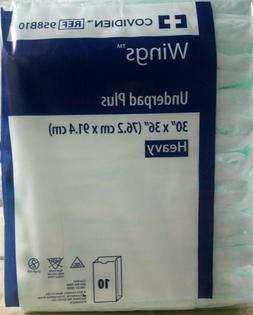 Large Disposable Incontinence Bed Pads 10 Count  Bedpads