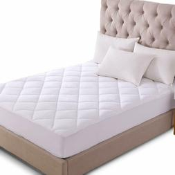 mattress pad cover cooling breathable topper quilted