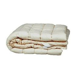 100% Wool Mattress Pad Bed Topper Washable Sleep & Beyond Tw