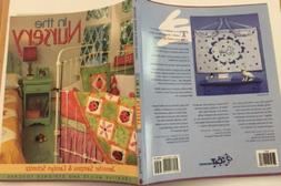 pattern softcover book IN THE NURSERY baby quilts bedding pi