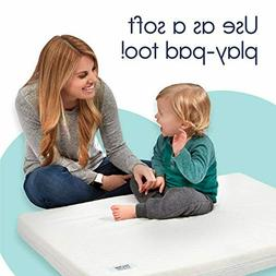 SUPER COMFORT DUAL SIDED PLAY PEN PAD MATTRESS MEMORY FOAM F