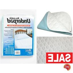 Washable Waterproof Bed Pads Pad Reusable Hospital 34X36 Ult